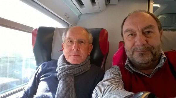 Claudio Di Buono e Franco Vetrano